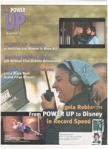 thumbnail of 2004 Angela Robinson Interview Power Up Quarterly